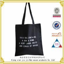 China wholesale customized design and print plain canvas bag