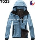 Womens blue motorbiking softshell jacket T23