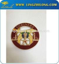 Shriners masonic metal emblem,Masonic cut out car emblems,shriners emblems