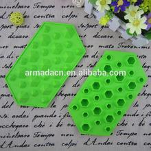 eco-friendly silicone 27 diamond shape silicone ice cube tray