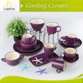 cor grés xícara de chá de jantar conjunto