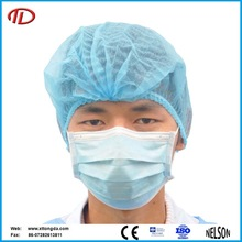 Cheap nonwoven disposable colorful painter surgical doctor mob cap