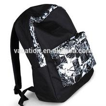 cool magic school laptop backpack in black color