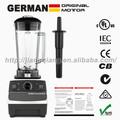Motor alemán tecnología 2l 2200w licuadora comercial con bpa libre jar, modelo: g5200, blanco, sin gastos de envío, 100% no garantizado.