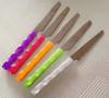 Multi Color Twist Handle Fruit Knife Set