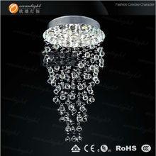 big discount crystal chandelier / pendant lamp flush mount round base - OM9117