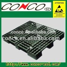 ESD black plastic plant storage tray