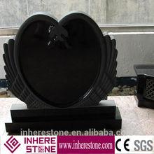 cheap double heart shaped headstone tombstone