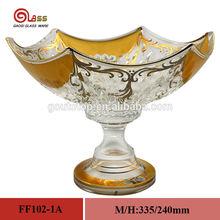 unique sugar/fruit glass bowl