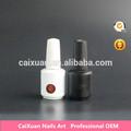 2015 venta caliente remoje del gel de color de esmalte de color puro gel uv esmalte de uñas para uñas de arte de pintura de uñas, cristina gel uv polaco
