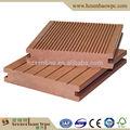 Usine prix 140 X 23 mm solide anti - slip de bain piscine jardin bois composite plancher