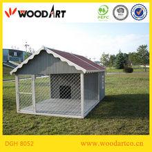 Large yard large metal dog house