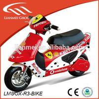 hot sale super mini chopper pocket bike by pull start 49cc scooter