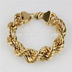 New gold bracelet models jewelry manufacturer China