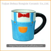 Made in China Best Selling handpainted stoneware mugs