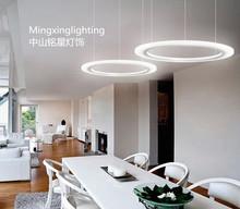 ring design LED acrylic pendant lamp
