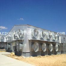 Steel structure chicken farm house bird cage