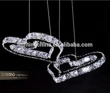 Heart murano glass 12w led ceiling lamp holder ceiling light