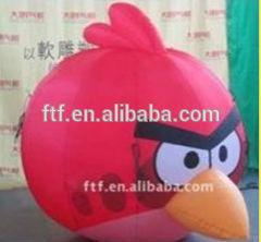 advertising inflatable cartoon bird/inflatable air cartoon bird toy for kids