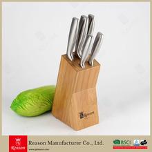 5PCS Bamboo Knife Set Kitchen