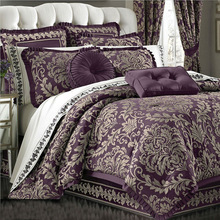 home use luxury jacquard bedding comforter sets
