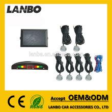 LED Display Sound Alert 6 Sensors Universal Auto parking sensor system/Car Reversing Aid