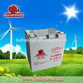 fábrica de venda 12v 24ah solar dry cell bateria de ciclo profundo