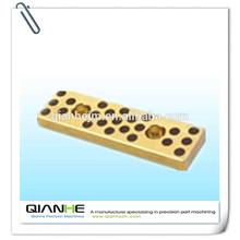 Qianhe processing aluminum brass machined precision parts