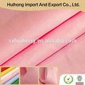 Shaoxing china keqiao tela poliéster 100% de satén para la hoja de cama