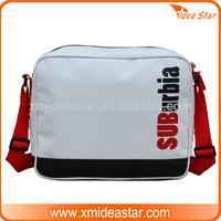 SUB-R01 Tarpaulin PVC unisex school shoulder strap bag