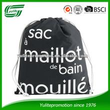Promotional Waterproof Nylon Drawstring Swimming Bag