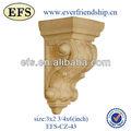 2014 new style pas cher antique décorative faux intérieure et extérieure bois corbeaux ( EFS-CZ-43 )