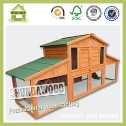SDR14 Solid Wood Guinea Pig Hamster Cages for Sale