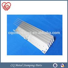 Aluminum Round Metal Stamping Heatsink and CNC Machining