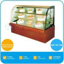 Cake Shop Equipment - Refrigerated, 3 Shelves, 2-8 'C, 1.8 Meters, TT-MD41C