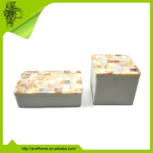 mother of pearl MOP jewelry box