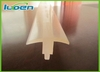 OEM wear-resisting transparent silicon rubber strip