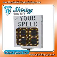 LED Lamp Outdoor Driver Sign Traffic Radar Speed Feedback