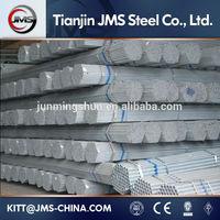 pre galvanized steel pipe! pre galvanized pipe! pre galvanized steel tube! made in China