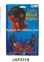 plastic devil horns