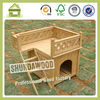 SDD01 High Quality Wooden Dog House Kennel with Balcony