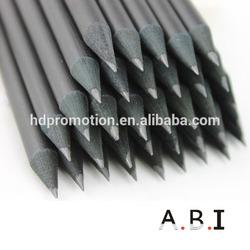 7inch high-grade office black wooden pencil