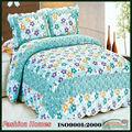Los diseños clásicos de algodón de verano edredones/cobijas/colchas/cubrecamas/beding conjuntos