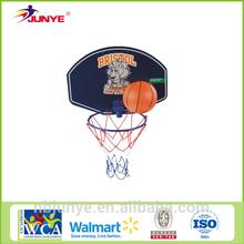 Game adjustable basketball hoop