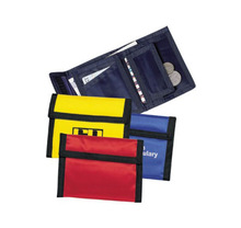 Factory price!Best selling classic velcro polyester nylon wallet