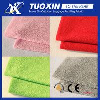 Pure loving heart design good quality 100% polyester knit polar fleece/fleece fabric textile fabric
