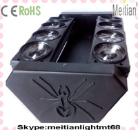 Fast Delivery Stage Equipment Producer 8pcs 10w Led Beam Spider Moving Head Light