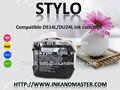 De calidad superior& precio competitivo& larga vida de anaquel& ningún olor compatible ds14l/du24l cartucho de tinta