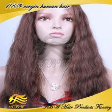 6A Grade Silk Top Virgin European Virgin Human Hair Jewish Wig