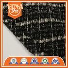 2014 new fashion 100%T sample,high quality plaid fabric homespun fabric in single dye for women clothing/dress